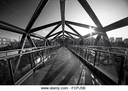 Deansgate Castlefield Brücke - Stockfoto