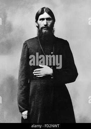 Rasputin, Porträt c.1910 - Stockfoto