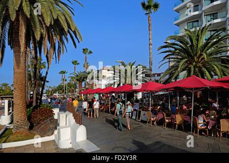 Puerto De La Cruz, Teneriffa, Spanien - Stockfoto