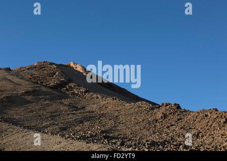 Der Teide im Teide Nationalpark auf Teneriffa, Spanien. - Stockfoto