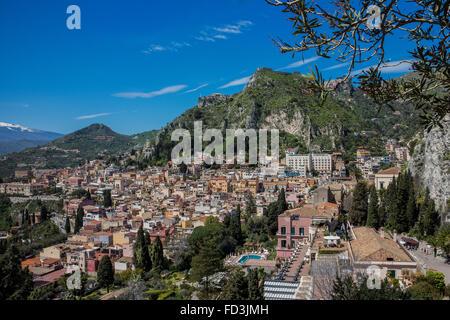 Taormina, Sizilien, Italien - Stockfoto