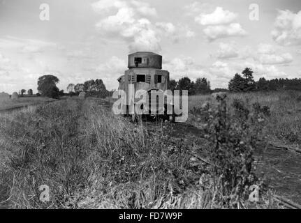 Dummy-Tank der Reichswehr - Stockfoto