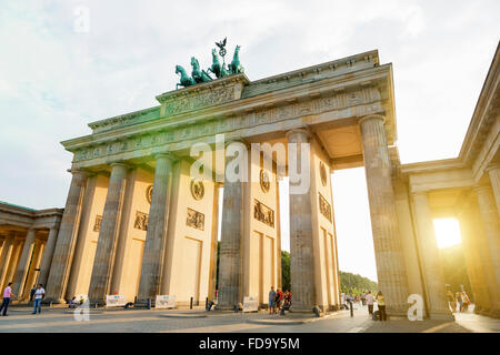 Europa, Deutschland, Berlin, Brandenburger Tor - Stockfoto