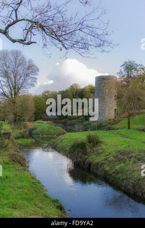 Das Gelände des Blarney Castle, Blarney, Cork, Irland. - Stockfoto