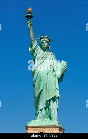 New York City, Statue of Liberty - Stockfoto