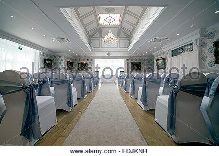 Hochzeit Veranstaltungsort Trauzimmer - Stockfoto