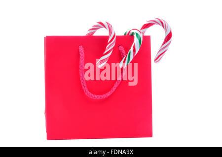 Geschenk, Geschenktüte, Zucker-bar - Stockfoto