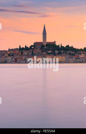 Rovinj ist eine Stadt in Kroatien befindet sich an der nördlichen Adria. Das Hotel liegt an der Westküste der Halbinsel - Stockfoto
