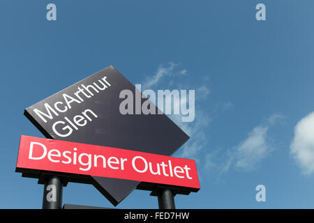 McArthur Glen Designer Outlet, Bridgend, South Wales, Australia - Stockfoto