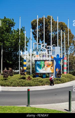 Melbourne-Sport und das Aquatic Centre, Melbourne, Australien - Stockfoto