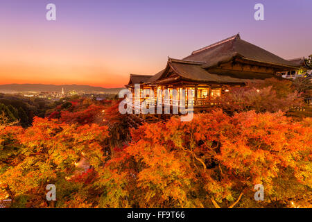 Kyoto, Japan im Kiyomizu-Dera Tempel. - Stockfoto