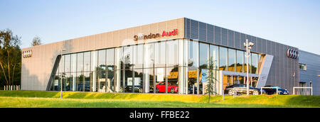 Swindon Audi Delta Businesspark, Welton Road, West Swindon, Wiltshire. - Stockfoto