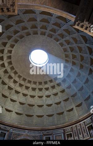 Römischen Pantheon Rom Italien - Stockfoto