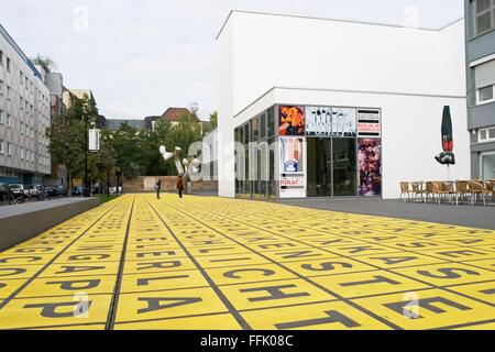 Berlinische Galerie, Museum für Kunst, Bezirk Kreuzberg, Berlin, Deutschland, - Stockfoto