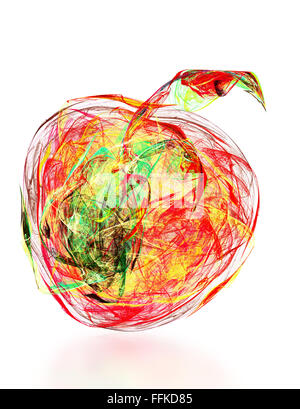 abstrakte Obst