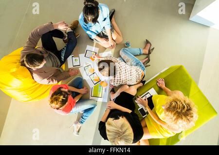Architekten in Business-Meeting-Team - Stockfoto
