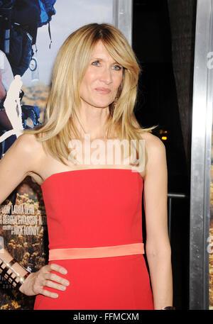 """Schauspielerin Laura dern kommt am 19. November 2014 in Beverly Hills, Kalifornien, zur Premiere von """"Wild"""" in Los - Stockfoto"""