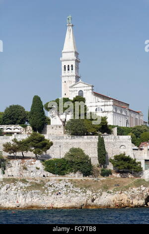 Geographie/Reisen, Kroatien, Istrien, Rovinj, Pfarrkirche St. Euphemia, Additional-Rights - Clearance-Info - Not - Stockfoto