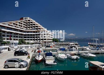 Geographie/Reisen, Kroatien, Istrien, Opatija Hotel Admiral an Marina, Additional-Rights - Clearance-Info - Not - Stockfoto
