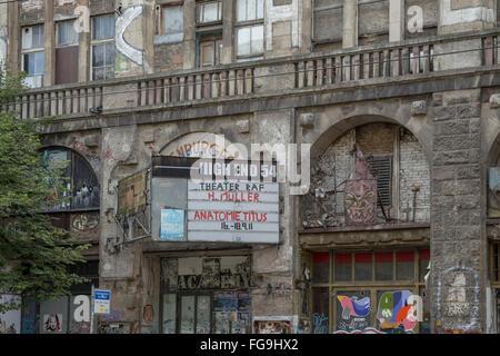Geographie/Reisen, Deutschland, Berlin, Berlin Mitte, Tacheles, Oranienburger Straße, Additional-Rights - Clearance - Stockfoto
