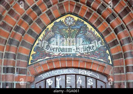 Berlin, Oberbaumbruecke, Architektur - Stockfoto