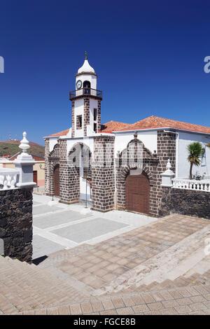 Iglesia Santa Maria De La Concepcion, Valverde, El Hierro, Kanarische Inseln, Spanien - Stockfoto