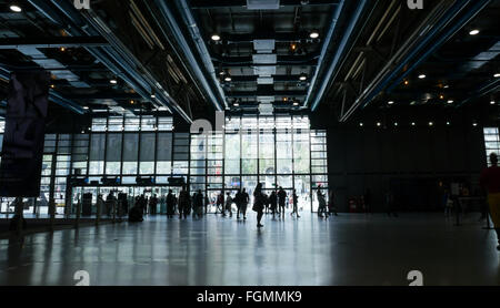 Centre Georges Pompidou in Frankreich - Stockfoto