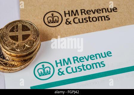 HM Revenue & Zollformular - Stockfoto