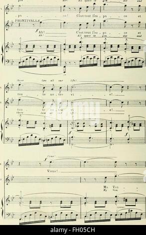 Monna Vanna; lyrisches Drama in vier Akten und fünf Tableaus von Maruice Maeterlinck. Englischen Text von Claude - Stockfoto