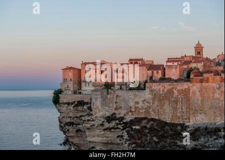 Bonifacio. Korsika. Frankreich - Stockfoto