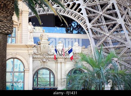 Hotel Paris in Las Vegas, Nevada. - Stockfoto