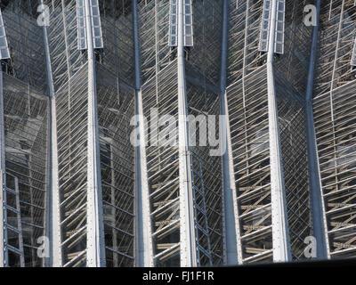 Abstrakte Glas Dach - Stockfoto