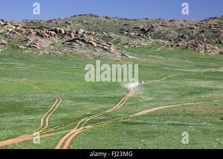 Mongolei-Landschaft - Stockfoto