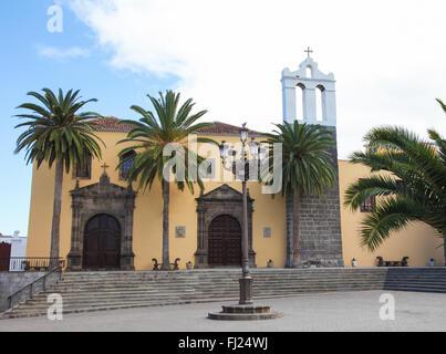 Franziskaner-Kloster in der Stadt Garachico, Teneriffa, Kanarische Inseln, Spanien - Stockfoto