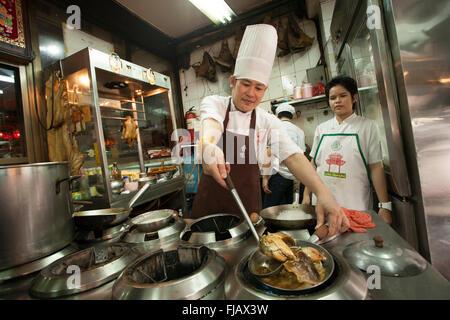 wok kochen in china stockfoto bild 34967901 alamy. Black Bedroom Furniture Sets. Home Design Ideas