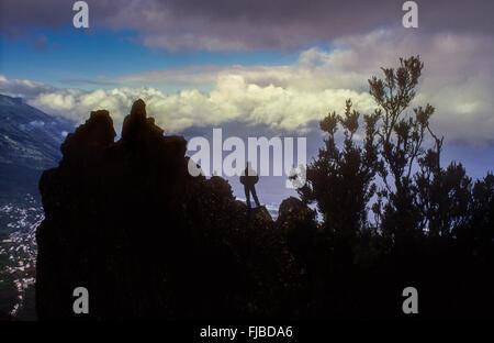 Mirador de Jinama, El Hierro, Kanarische Inseln, Spanien, Europa - Stockfoto