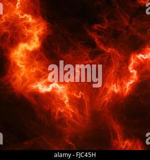 Rot, hoher Energie Beleuchtung, Computer abstrakt Hintergrund generiert - Stockfoto