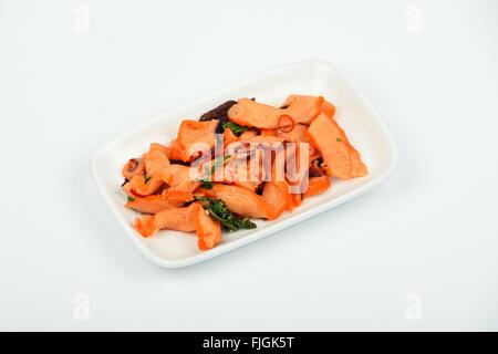 meeresfr chte tintenfisch tintenfisch algen und chili mariniert salat snack mit beitragsfrei. Black Bedroom Furniture Sets. Home Design Ideas