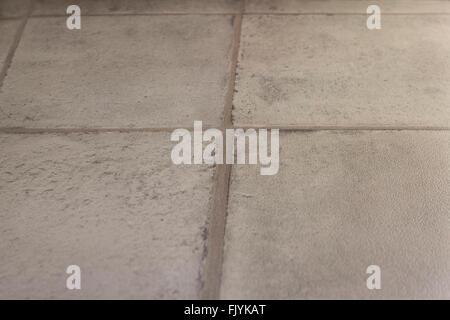 Beige Bodenfliesen Nahaufnahme Textur für Küche oder Bad Wand oder ...