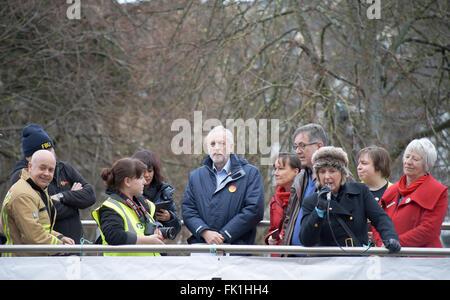 5. März 2016 Anti Union Bill Protest Rallye Cardiff Wales Großbritannien angeordnet durch Welsh Gewerkschaften mit - Stockfoto