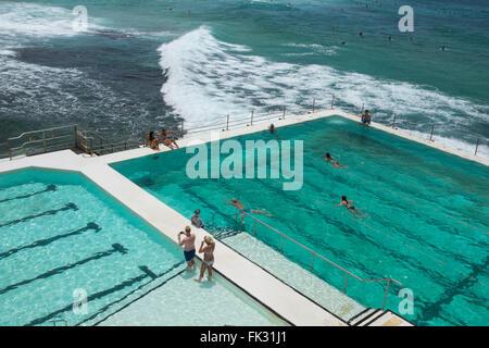 Bondi Icebergs Pool, Sydney, New South Wales, Australien - Stockfoto