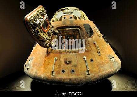 CAPE CANAVERAL, FL - 28 Dez.: Apollo 13 LEM Kapsel angezeigt bei der NASA, Kennedy Space Center in Florida, 28. - Stockfoto