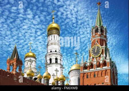 Spaska Turm des Moskauer Kremls - Stockfoto