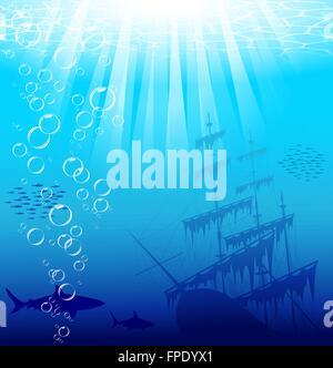 Unterwasser-Welt - Stockfoto