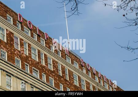Dolphin Square ist ein Baustein der privaten Wohnungen und Business Complex am Pimlico in London gebaut. Einst die - Stockfoto