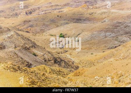 Wüstenlandschaft Berg, Jordanien, Naher Osten - Stockfoto
