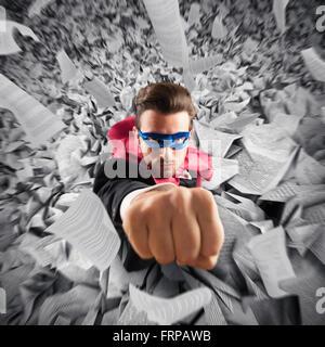 Flucht aus der Bürokratie - Stockfoto