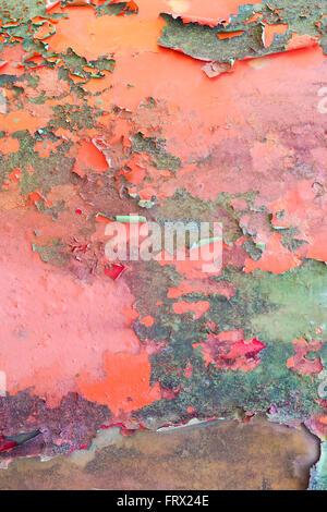 Textur abblätternde Farbe 3 - Stockfoto