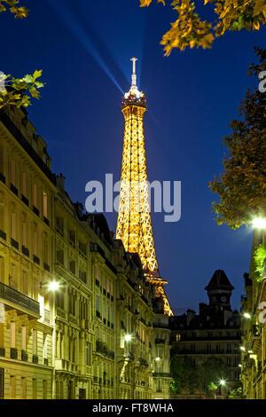 Eiffelturm, Paris, Frankreich - Stockfoto
