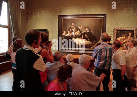 Die Anatomie-Lektion von Dr. Nicolaes Tulp - von Rembrandt van Rijn ...